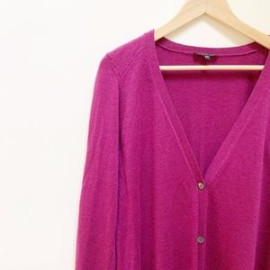 Eileen Fisher Womens Boyfriend Sweater Cardigan M